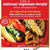 June is National Vegetable Month!