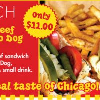 Italian Beef & Chicago Dog Combo